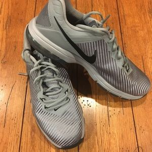 MENS NIKE AIR MAX FULL RIDE GREY BLACK SIZE 11